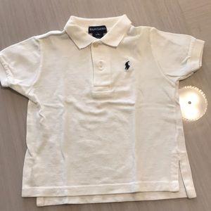 Ralph Lauren boys short sleeve polo shirt 12/18